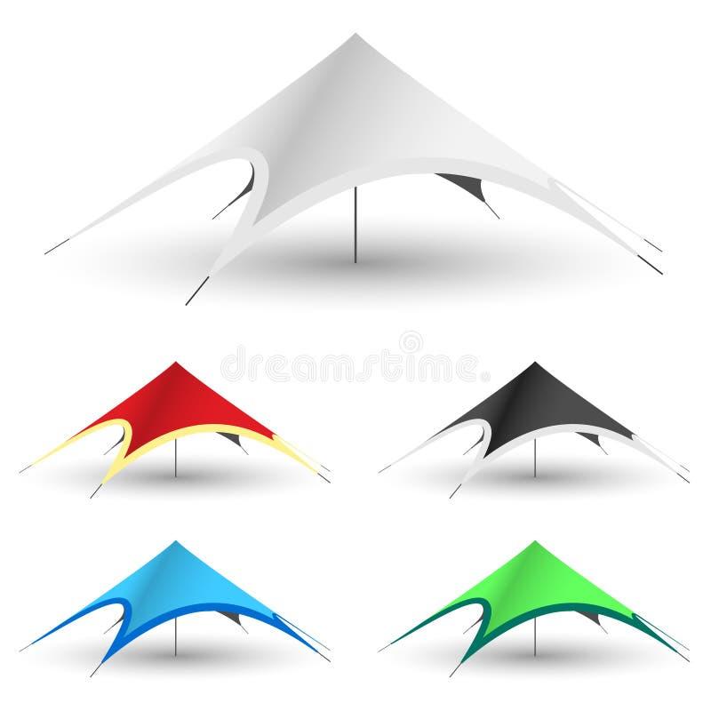Gazebo Tent Icon vector illustration