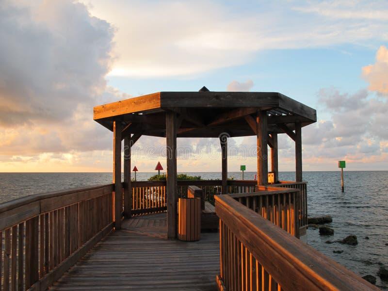 Gazebo tropicale fotografie stock libere da diritti
