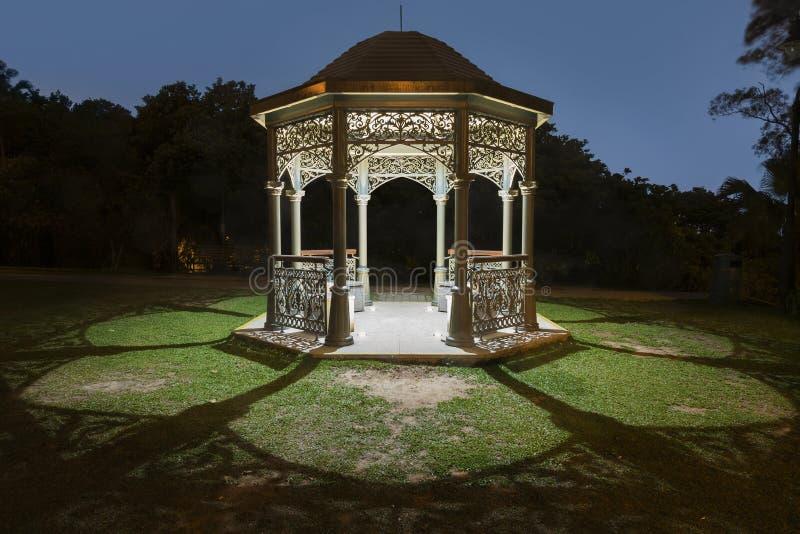 Gazebo w parku fotografia royalty free