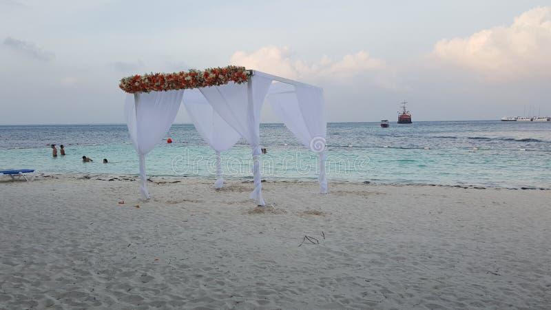 Gazebo wedding royalty free stock image