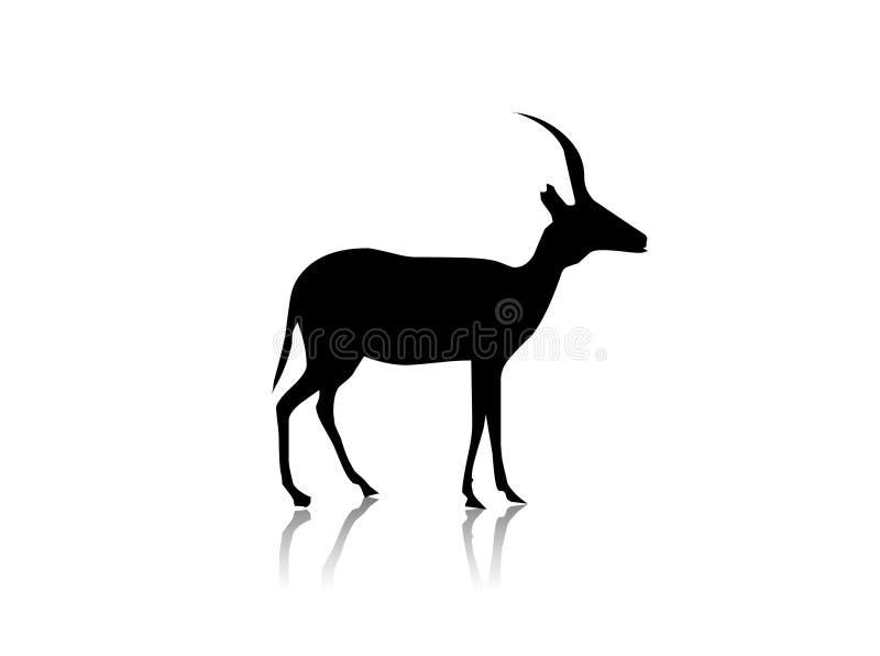 Download Gazelle stock illustration. Image of symbol, illustration - 6463800