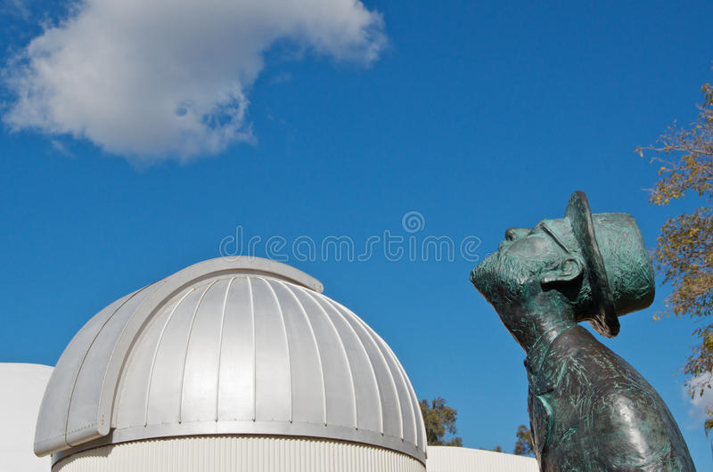 gazer planetarium gwiazda fotografia royalty free