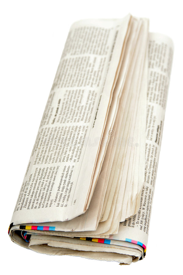 gazeta zdjęcia stock