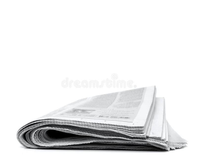 gazeta staczająca się staczać się fotografia stock