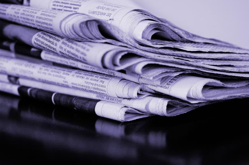 gazetowa sterta obrazy royalty free