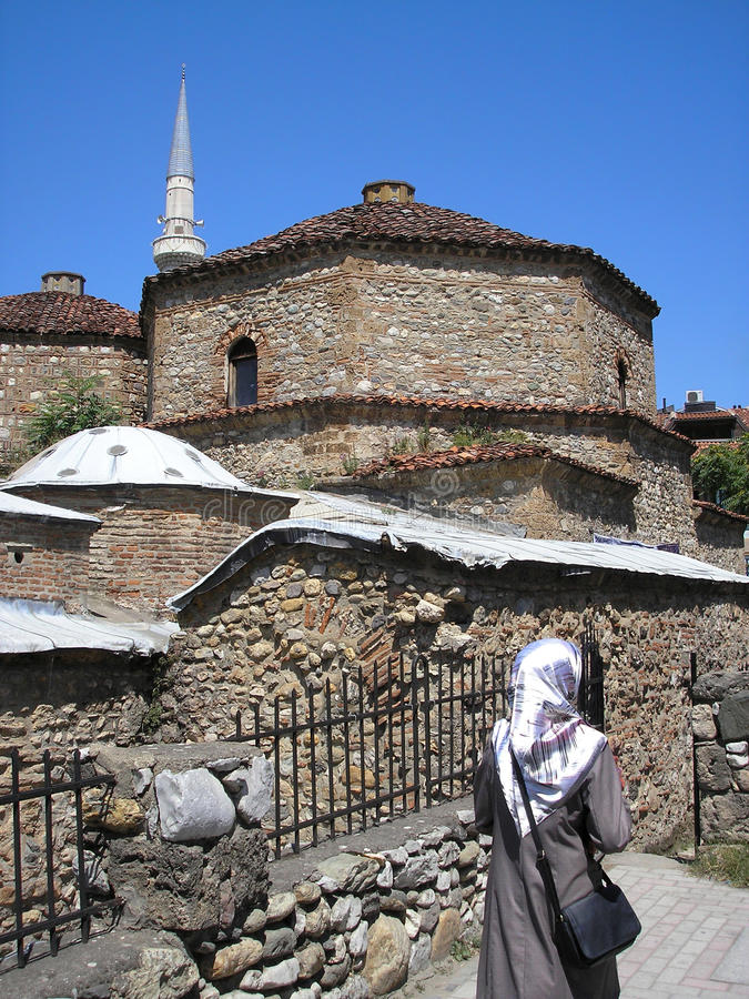 Gazi Mehmet Pasha Hamam In Prizren, Kosovo Stock Image