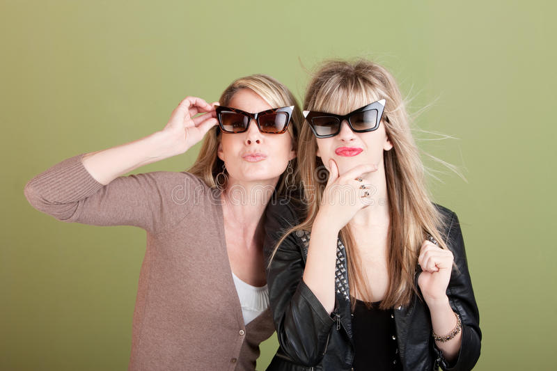 Download Gazing Mom and Daughter stock photo. Image of laugh, female - 22975758