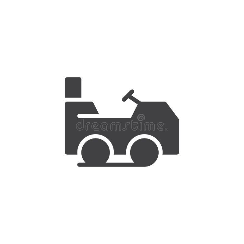 Gazonu kosiarza wektoru ikona royalty ilustracja