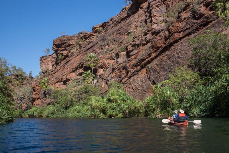 Gazonu wzgórza wąwóz, Queensland, Australia zdjęcia royalty free