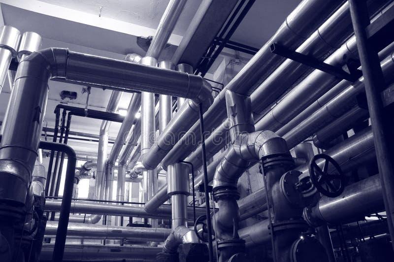 gazowych systemów oleiste industries obraz stock