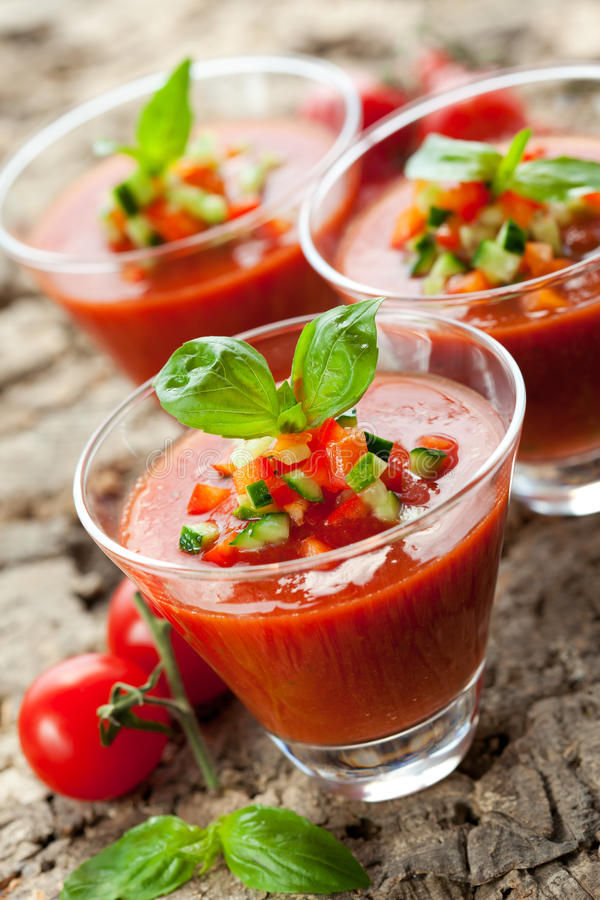 gazpacho στοκ εικόνες