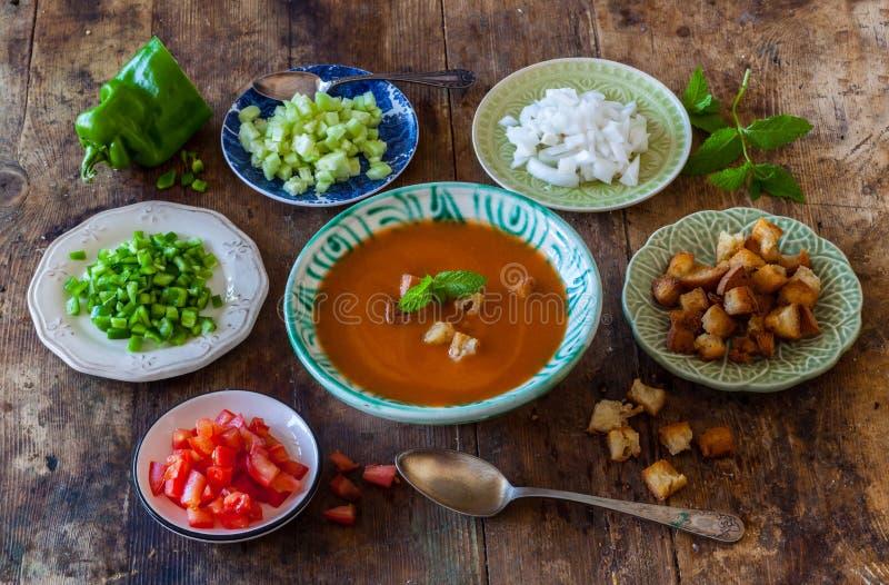 gazpacho fotografia stock