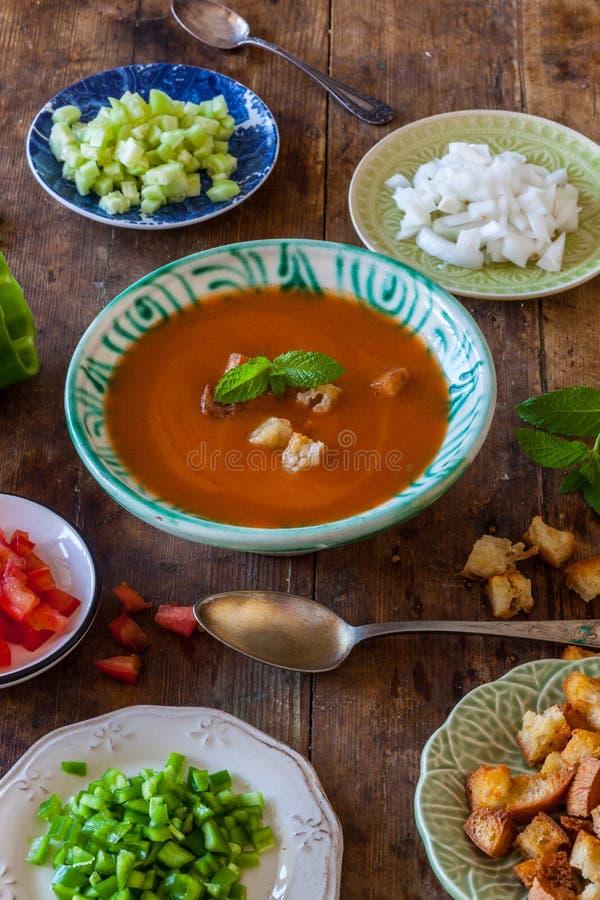 gazpacho fotografie stock