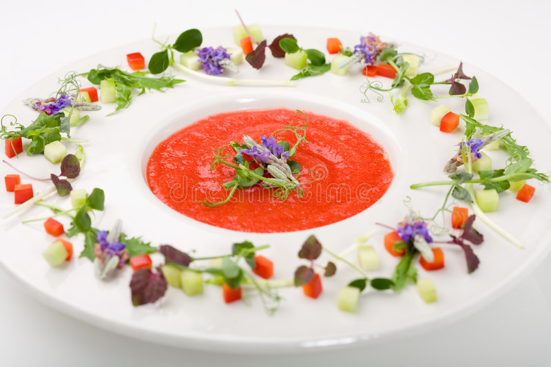 Download Gazpacho soup stock image. Image of tasty, soup, food - 5398341