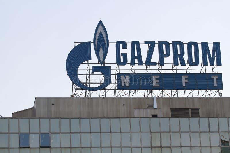 Gazprom Neft immagini stock libere da diritti