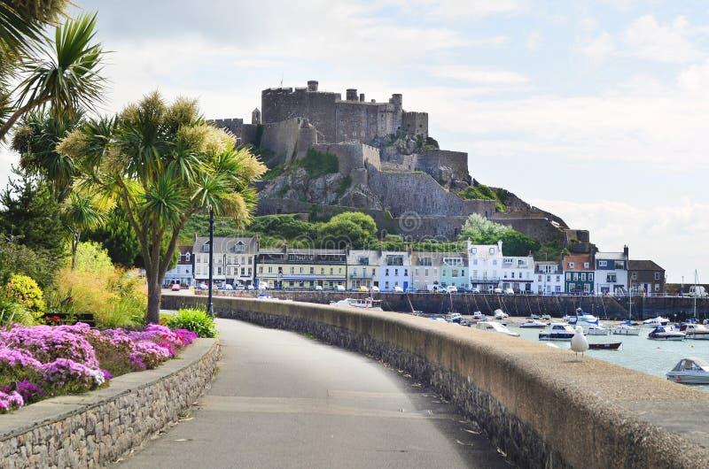 GB, het Eiland van Jersey royalty-vrije stock afbeeldingen