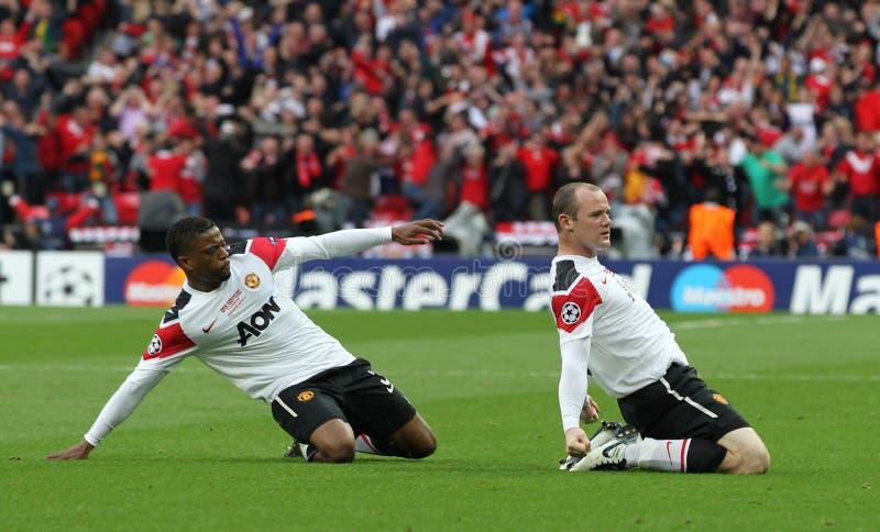 GBR: O futebol patrocina o final 2011 da liga fotos de stock royalty free