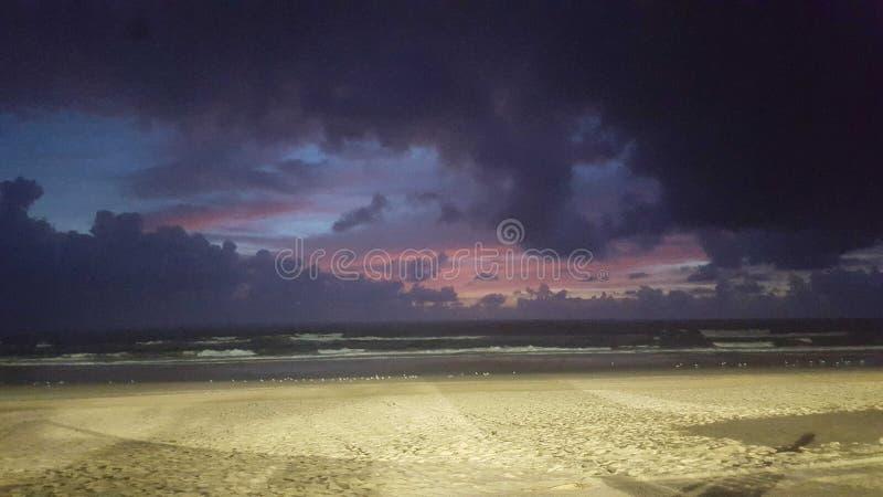 GC海滩 免版税库存照片