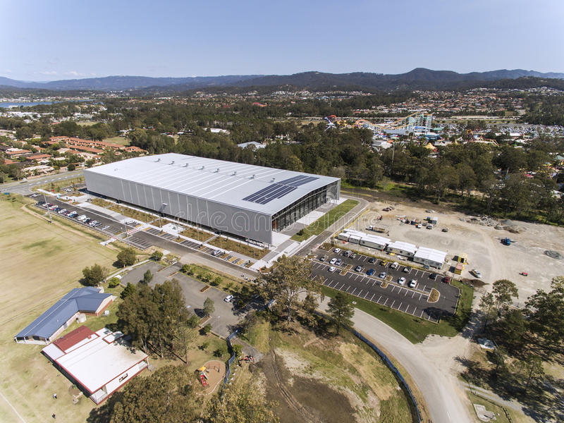 GC2018 Coomera Indoor Sports Centre stock photos