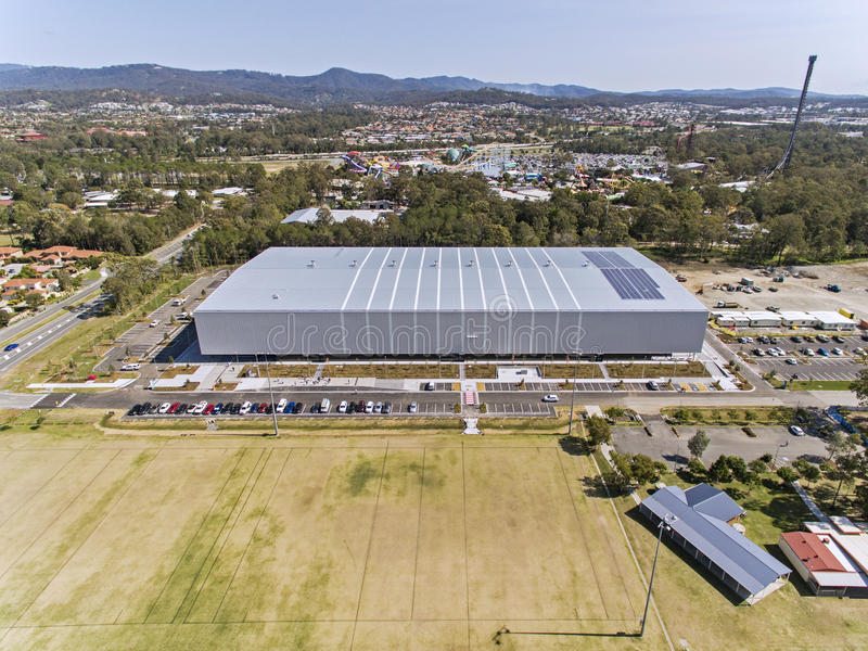 GC2018 Coomera Indoor Sports Centre royalty free stock images