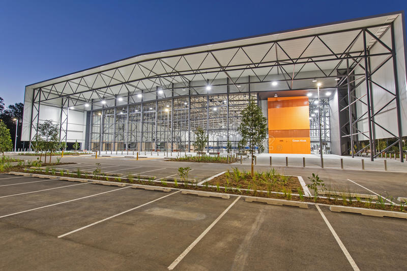 GC2018 Coomera Indoor Sports Centre stock image