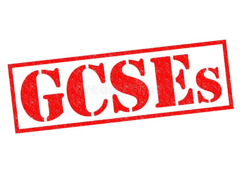 GCSEs stock illustration