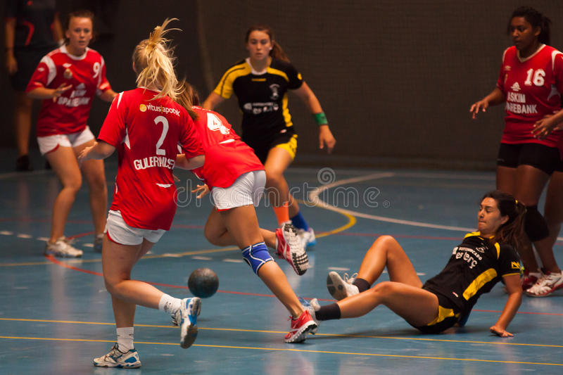 Download GCUP 2013 Handball. Granollers. Editorial Photography - Image: 31940432