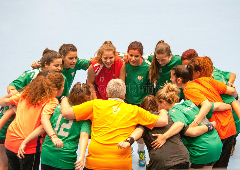Download GCUP 2013 Handball. Granollers. Editorial Stock Photo - Image of shot, equipment: 31940668