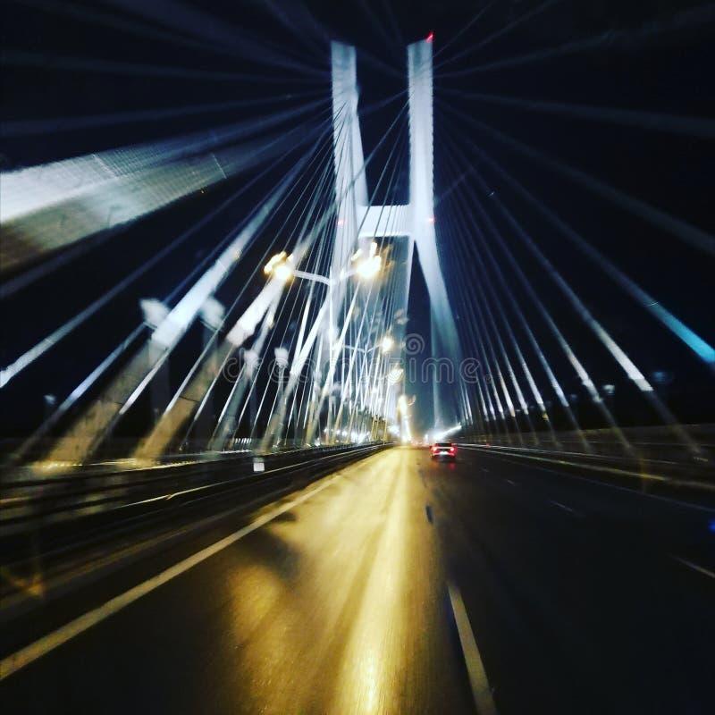 Gdanks桥梁 免版税图库摄影