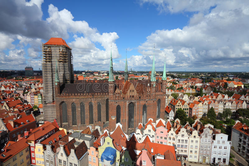 Download Gdansk stock image. Image of apartment, town, cityscape - 27613109