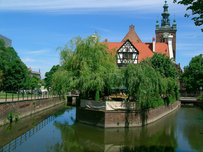 Gdansk-44 stock fotografie