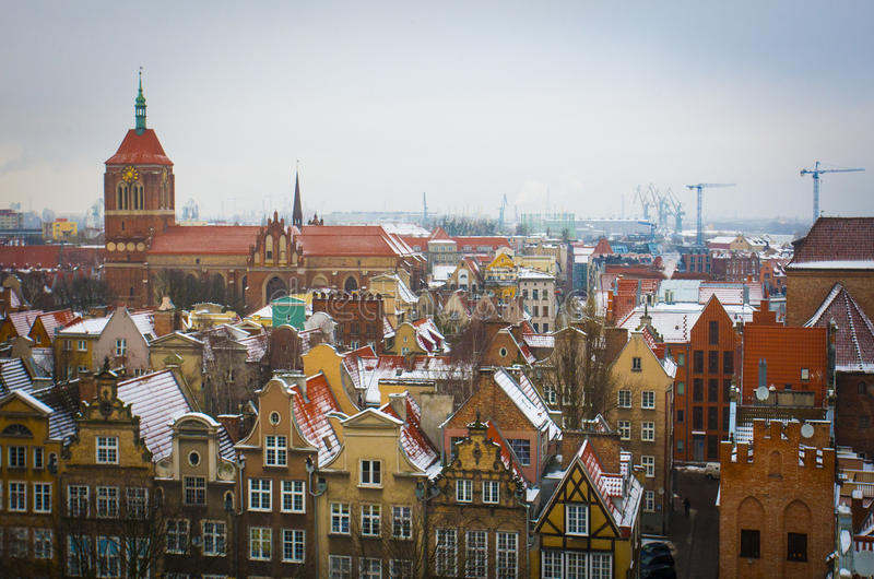 gdansk lizenzfreie stockbilder