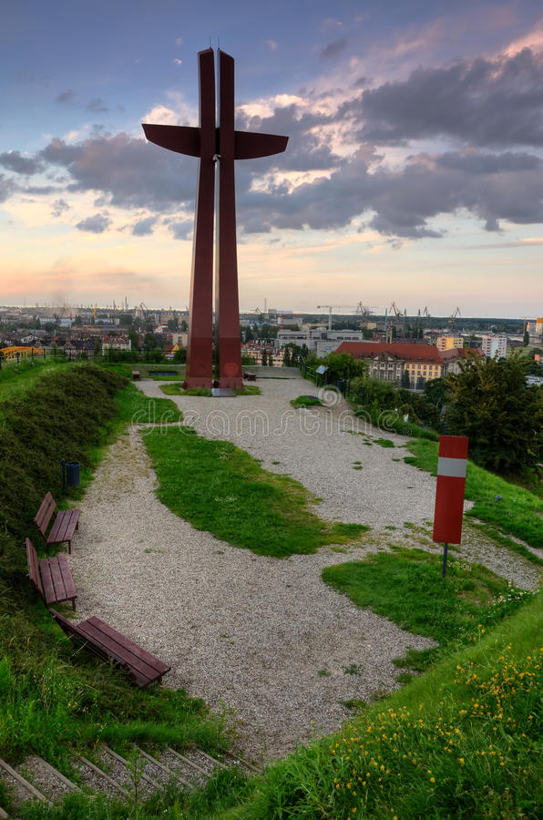 Download Gdansk City View Point Stock Image - Image: 26154221