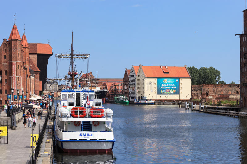Gdansk During The Euro 2012 Championship Editorial Image