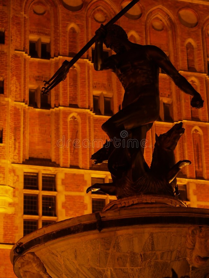 Download Gdansk by night stock image. Image of center, attractions - 7033591