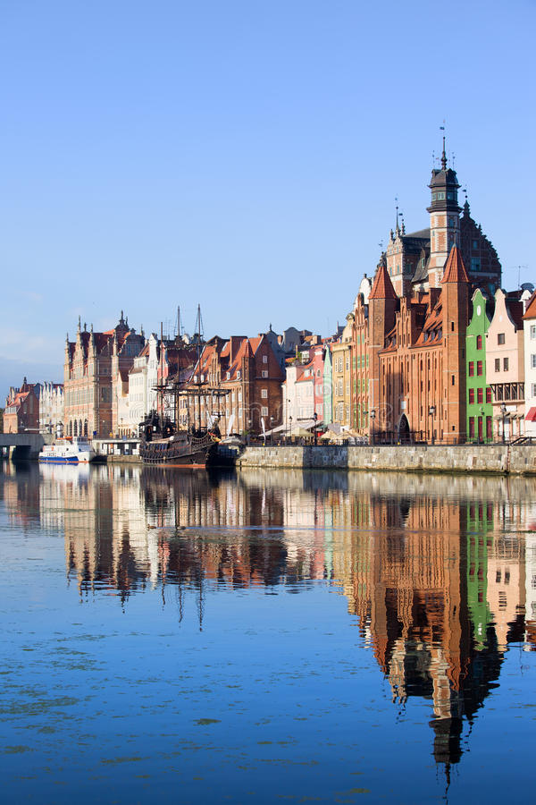 Download Gdansk Old City in Poland stock photo. Image of marine - 23073564