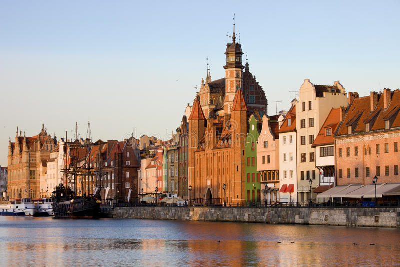 Download Gdansk Old Town in Poland stock photo. Image of danzig - 22954822
