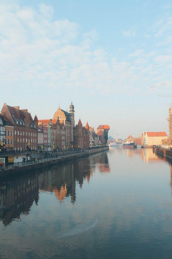 gdansk poland arkivbilder