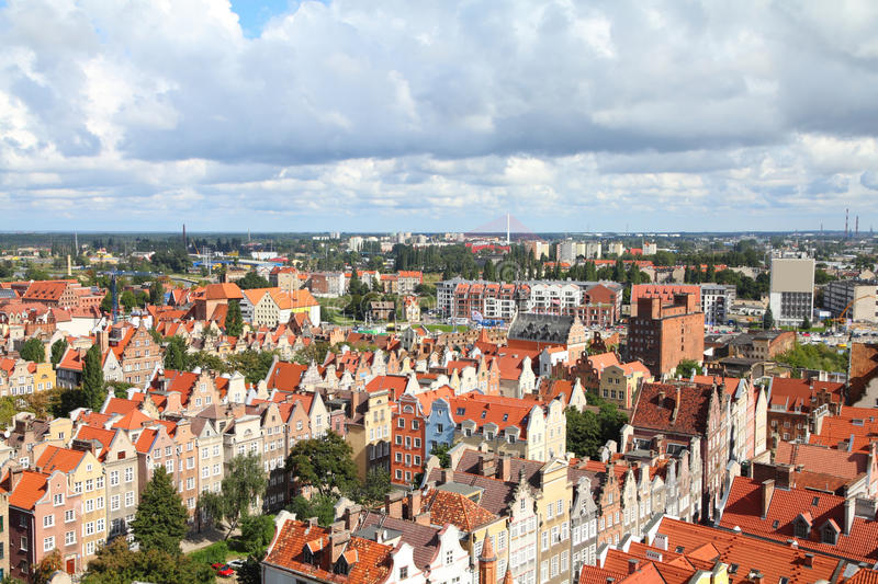 Download Gdansk, Poland stock photo. Image of tenement, tourism - 16674842