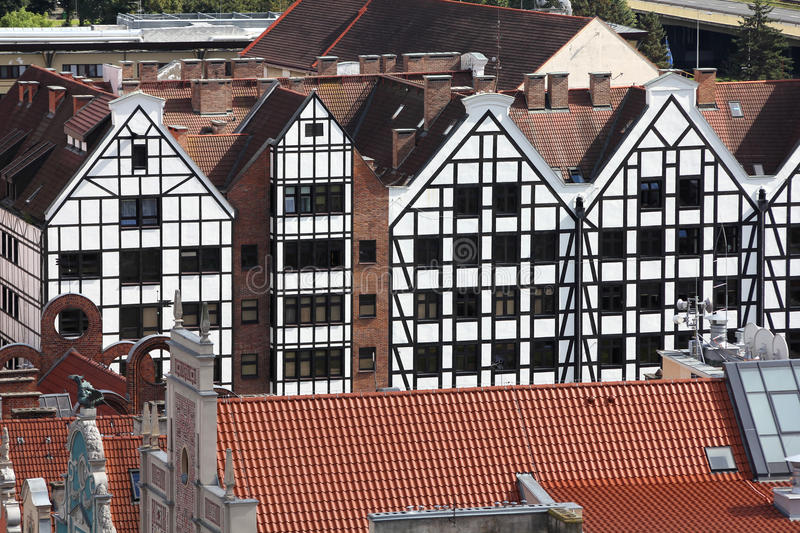 Download Gdansk, Poland stock image. Image of aerial, buildings - 20800485