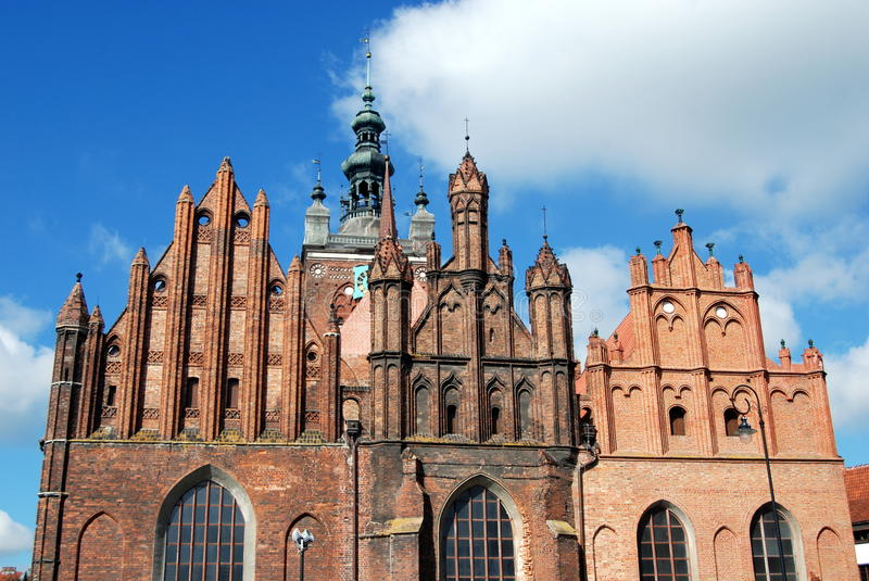 Download Gdansk, Poland: Church Of St. Catherine Stock Image - Image: 15742473