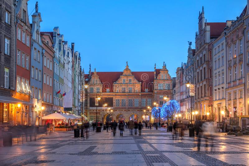 Gdansk, Poland royalty free stock photos