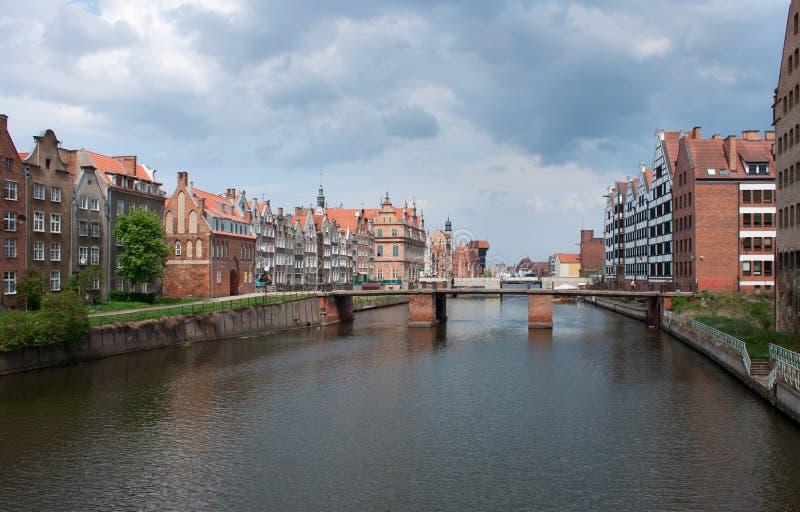 Gdansk, Polen. stock afbeelding