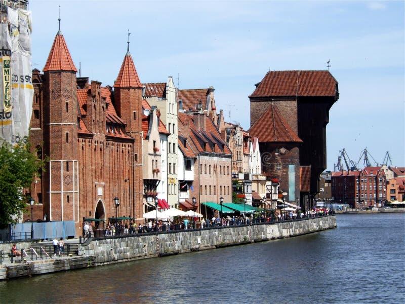 Gdansk, Polen stock foto's
