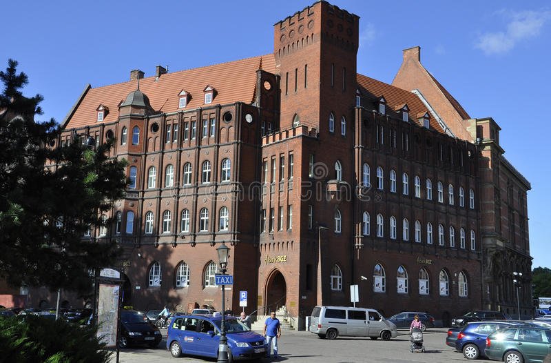 Gdansk, Polen 25. August: Historisches Gebäude (National Bank von Polen) in Gdansk von Polen stockbild
