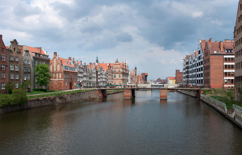 Gdansk, Polonia. imagen de archivo