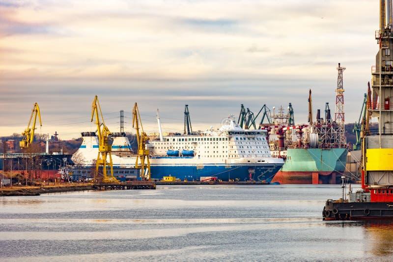 gdansk stocznia obraz royalty free