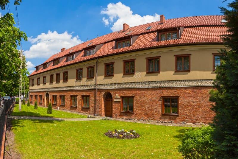Gdansk storstads- Curia arkivfoto