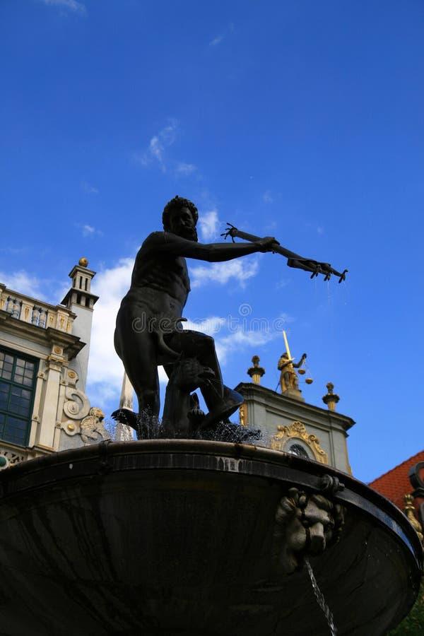 gdansk symbol royaltyfria bilder