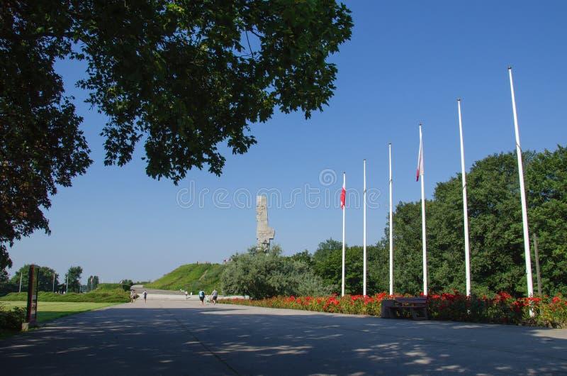 gdansk Westerplatte imagen de archivo